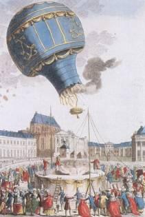 Ballon der Montgolfier